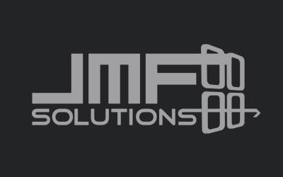 jmf solutions logo black and white